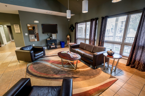 clubhouse at Outpost at Waco Apartments