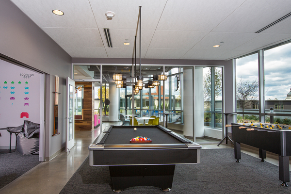 game room at LPM Apartments