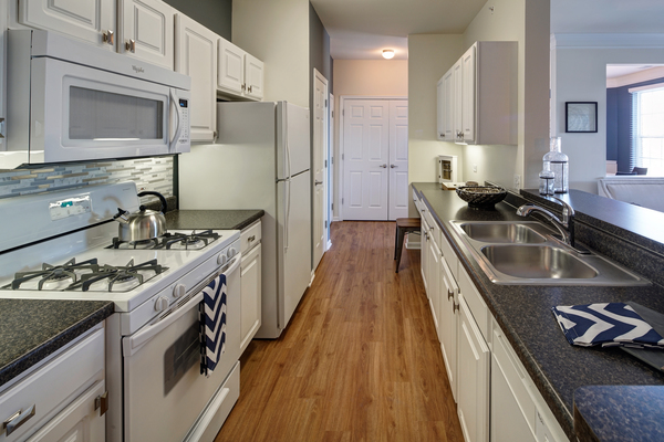 kitchen at Ascend St. Charles Apartments