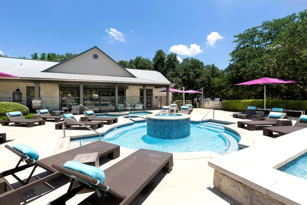 pool at The Preserve at Travis Creek Apartments