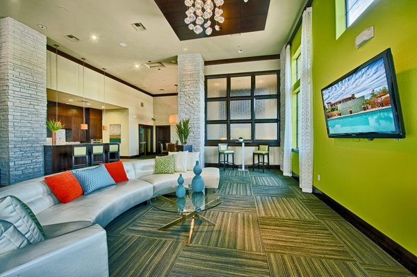 clubhouse at Residences at FortyTwo25 Apartments