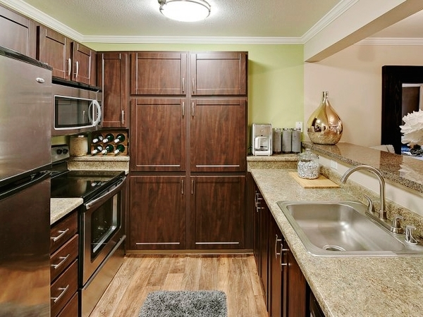 kitchen at Lakemont Orchard Apartment Rentals