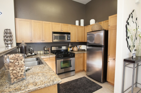 kitchen at Allure Apartments