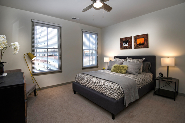 bedroom at Veranda at Norton Commons Apartments