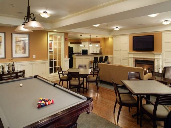 clubhouse at The Union at Lyndhurst Apartments