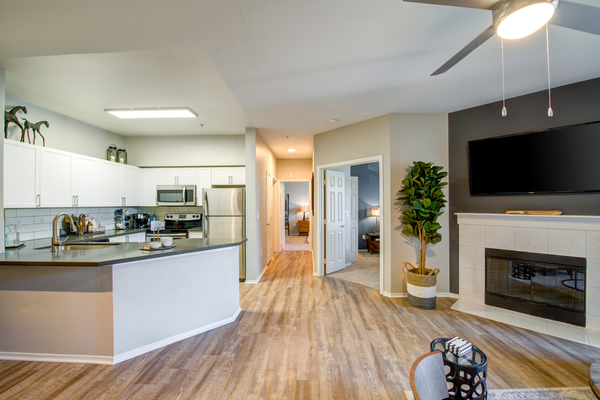 kitchen at Avana One Six Four Apartments