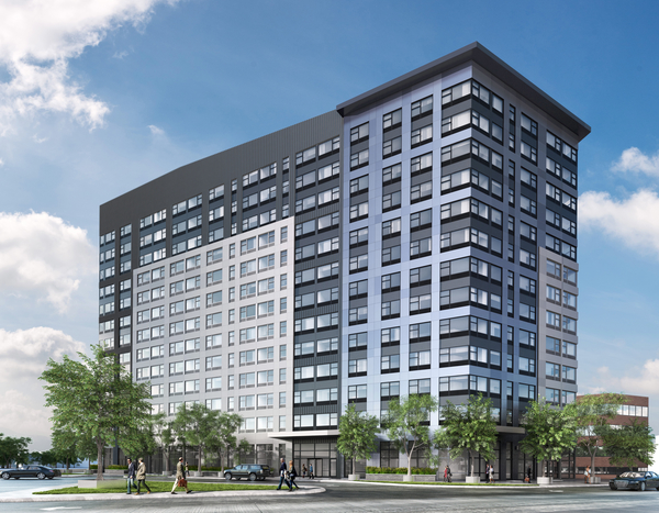 renderings at 3 Journal Square Apartments