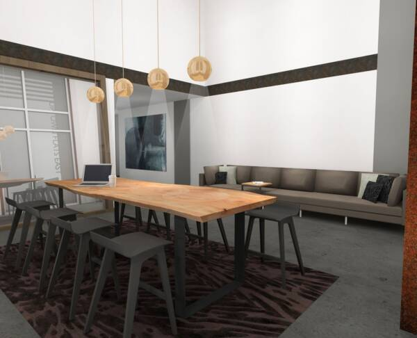renderings at Elan Uptown Flats