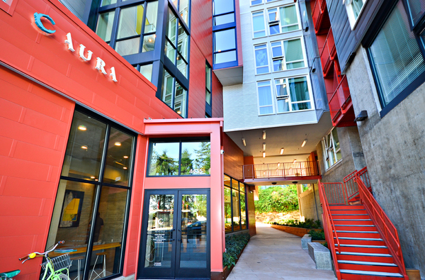 exterior at Aura West Seattle Apartments