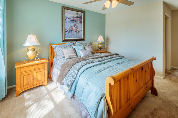 bedroom at Terraces at Fieldstone Apartments