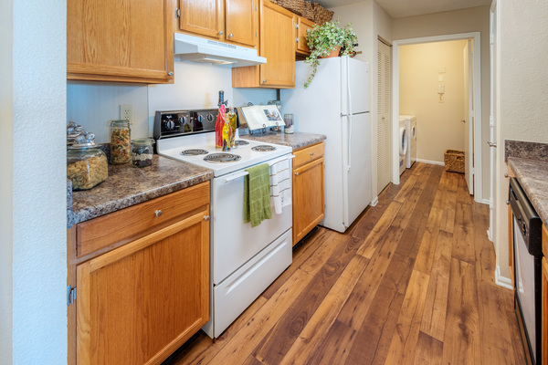 kitchen at Terraces at Fieldstone Apartments
