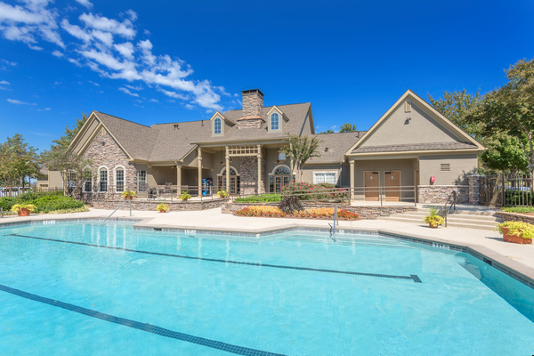 pool at Terraces at Fieldstone Apartments