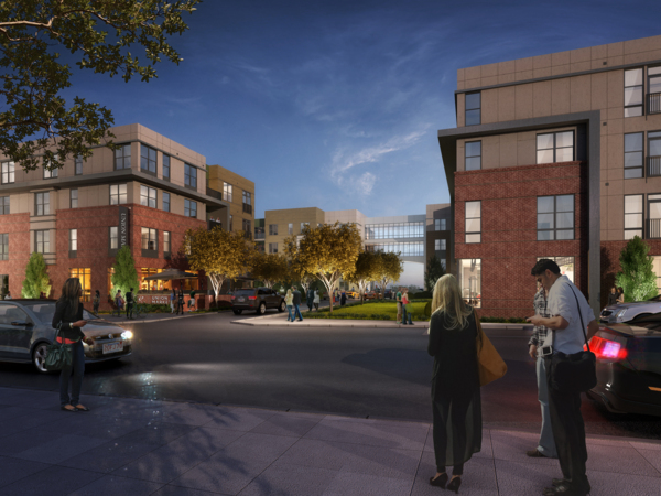 renderings at Elan Union Market Apartments