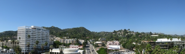 view at The Avenue Hollywood Apartments