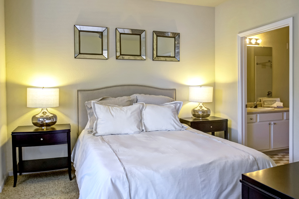 bedroom at Provenza at Southwood Apartments