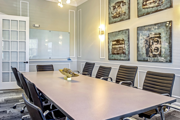 meeting facility at Provenza at Southwood Apartments
