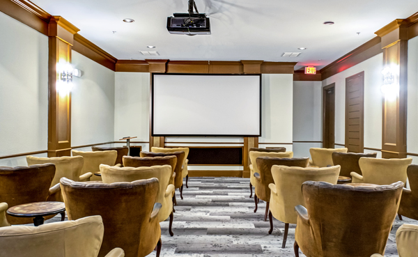 theater at Provenza at Southwood Apartments