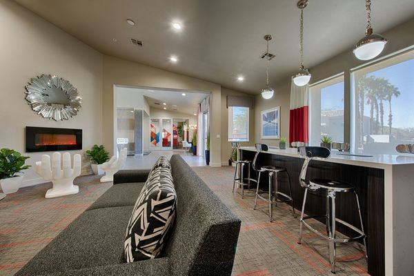 clubhouse at Envision Apartments