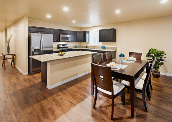 kitchen at Vickery Grove Apartments