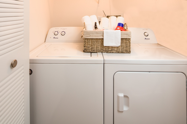 laundry room  at Rosehill Preserve Apartments