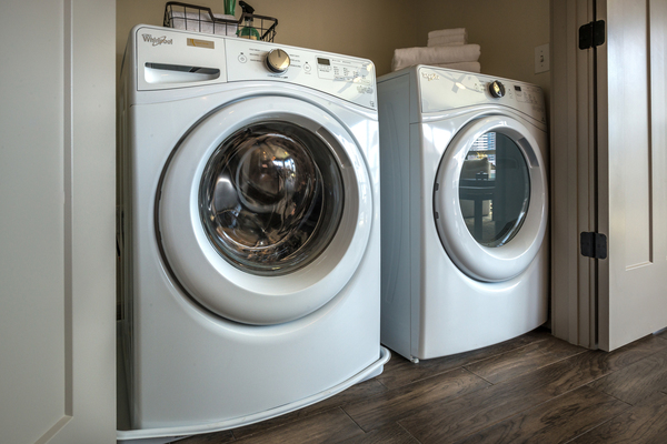 laundry  at Ascent Victory Park Apartments