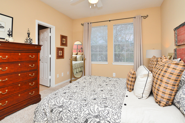bedroom  at The Villages of Cypress Creek Apartments