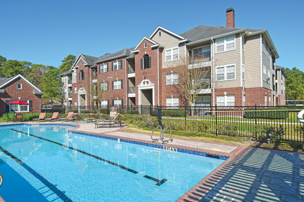 pool at The Villages of Cypress Creek Apartments