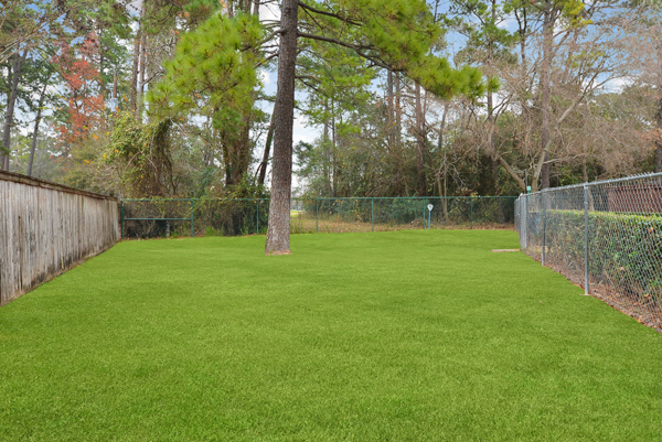 dog park at The Villages of Cypress Creek Apartments