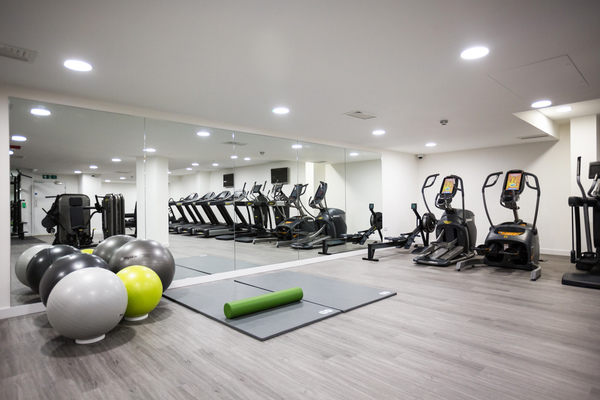 Fitness Center at Aldgate Place