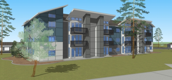 renderings at The Northern at Coeur d'Alene Place Apartments