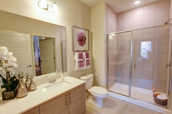 bathroom at Centric Gateway Apartments
