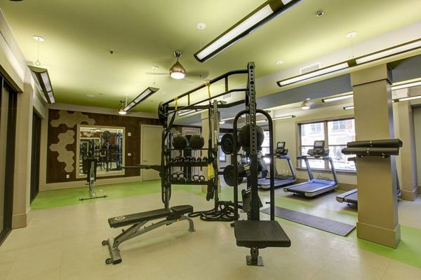 fitness center at Centric Gateway Apartments