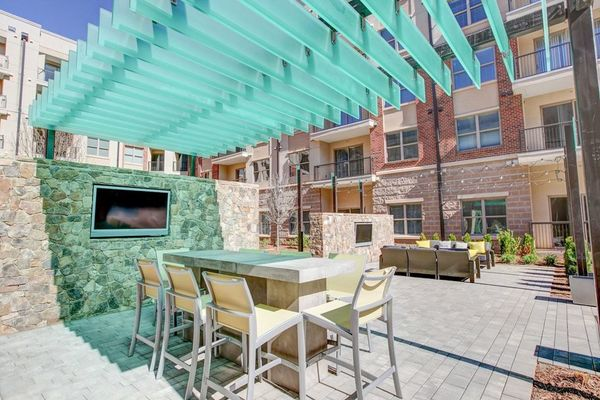 pool at Centric Gateway Apartments
