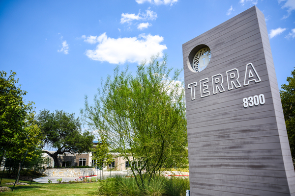 exterior at Terra Apartments