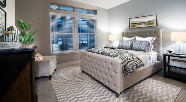 bedroom at WaterWalk at Shelter Cove Towne Centre