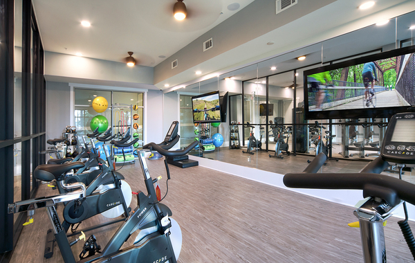 fitness center at WaterWalk at Shelter Cove Towne Centre