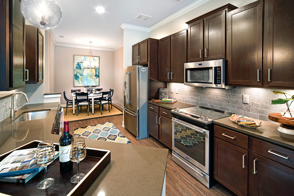 kitchen at WaterWalk at Shelter Cove Towne Centre
