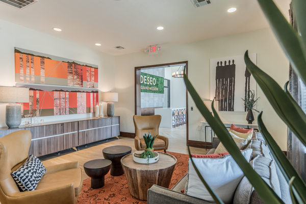 Clubhouse at Deseo at Grand Mission Apartments