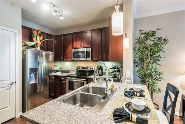 Kitchen  Deseo at Grand Mission Apartments