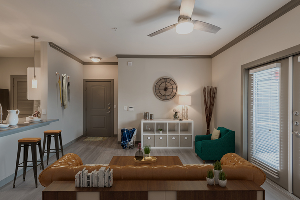living room Deseo at Grand Mission Apartments