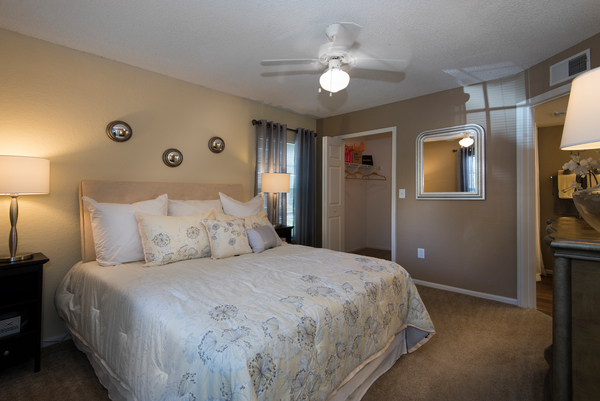 bedroom at Park Central Apartments - Belmont