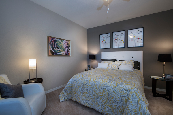 bedroom at Park Central Apartments - Charles Towne