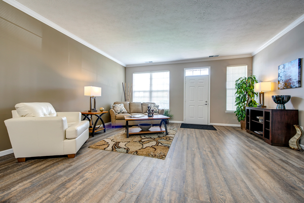 living room at Summit Pointe Apartments