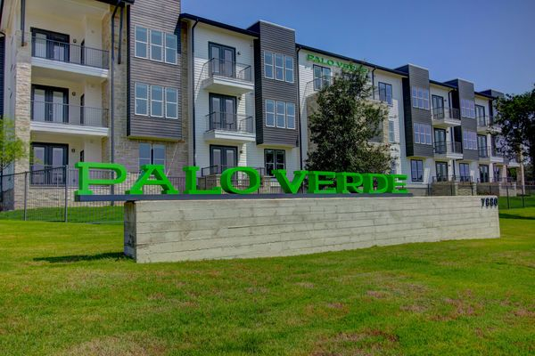 exterior at Palo Verde Apartments