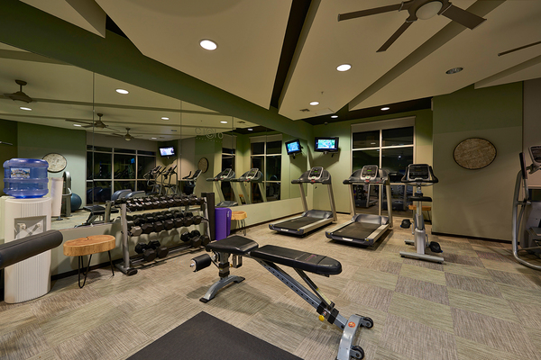 fitness center at Cielo Apartments