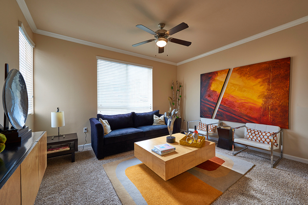 living room at Cielo Apartments