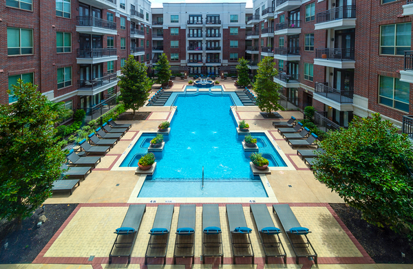 pool at Virage Luxury Apartments