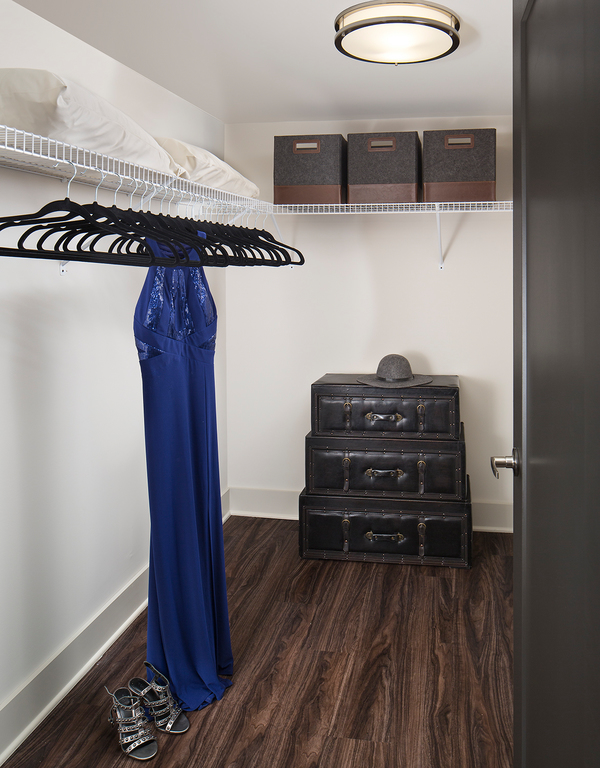 closet at Metro Apartments
