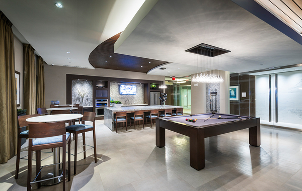 game room at Hanover East Paces