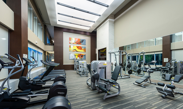 fitness center at Hanover East Paces